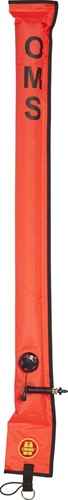 OMS Diver's Alert Marker, 3.3' long (1 meter), closed, No-Lock LP Connector, with OPV (~ 3 kg lift)