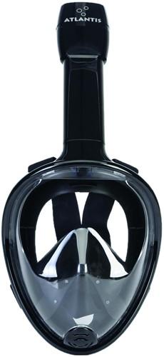 Atlantis Full Face Snorkelmasker Black L/XL