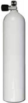 Aluminium Duikfles 7 Liter Enkel 200 Bar
