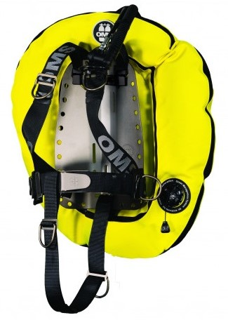 OMS Aluminum SmartStream System with Speed Yellow / Black Performance Double Wing 45 lb (~20 kg)