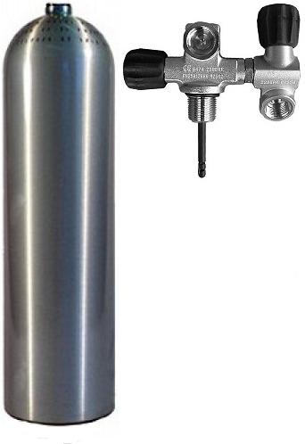 Stel Je Eigen Fles Samen Aluminium 200 Bar