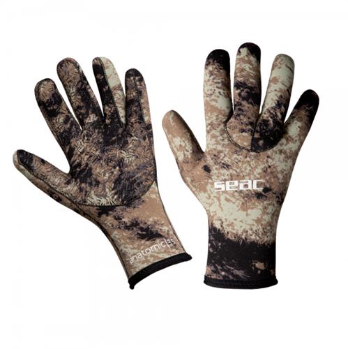 Seac Gloves Anatomic Camo Brown 3,5 Xxl