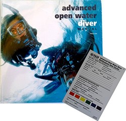 PADI Advanced Open Water boek