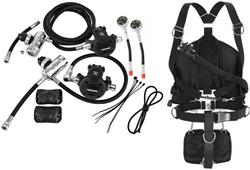 Apeks Sidemountset & WSX-25 Sidemount system