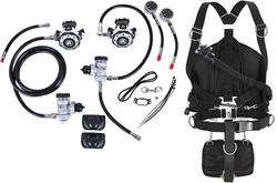 Apeks MTX-R & WSX-45 Sidemount system