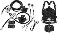 Apeks Sidemountset & WSX-45 Sidemount system