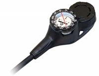 Apeks Narrow Hose Imperial 3D console manometer, dieptemeter & kompas-2
