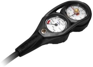Apeks Narrow Hose 2D console manometer & dieptemeter