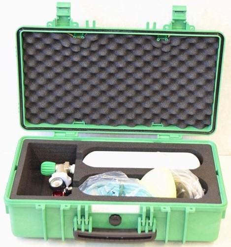 Zuurstofkoffer 2 liter Freeflow