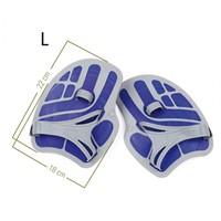 Aquasphere Ergoflex Handpaddles Blue -2