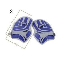 Aquasphere Ergoflex Handpaddles Blue S-2