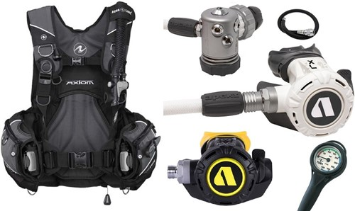 Aqualung Set Axiom XL4+