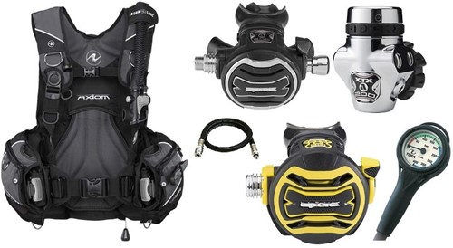 Aqualung Set Axiom XTX200