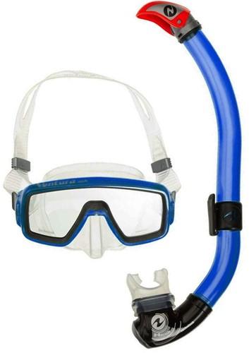 Aqualung Ventura Midi TS + Snorkel P/V blauw