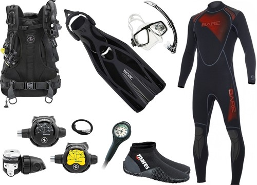 Aqualung Travel gear kit Outlaw Core