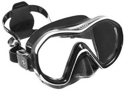 a6924bc66310f1 Aqualung Reveal X1 BS White Arctic duikbril bij SubLub