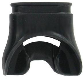 Aqualung Mondstuk Comfo Silicone Voor Vrouwen (Zwart)