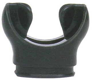 Aqualung Mouthpiece Silicone Black
