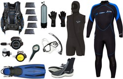 Aqualung Complete divegear kit Super Fancy