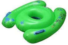 Aquasphere Baby Swim Seat Fluo Green 1-2Y