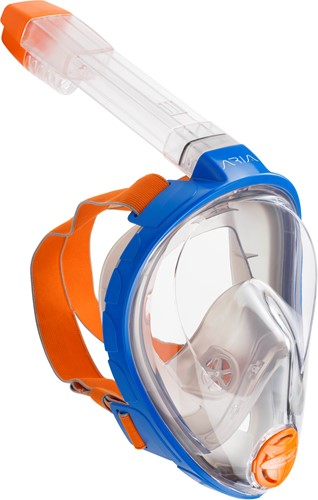 Ocean Reef Aria - Full Face Snorkeling Mask Blue L/Xl-2