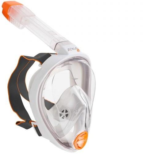 Ocean Reef ARIA JR XS White Full Face snorkelmasker