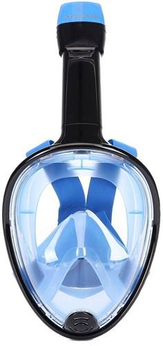 Atlantis Full Face Snorkelmasker Black/Blue S/M