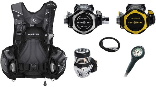 Aqualung Set Axiom Leg3nd Elite