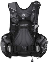 Aqualung Axiom Blk/Char ML trimvest-1