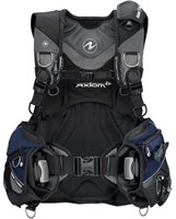 Aqualung Axiom i3 Blk/Navy/Grey ML trimvest-1