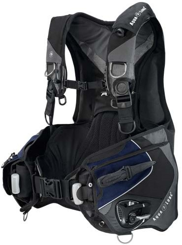 Aqualung Axiom i3 Blk/Navy/Grey M trimvest-2