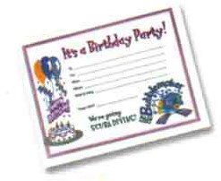 PADI Invitation Card - Bubblemaker Birthday