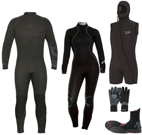 Bare Velocity-Nixie Ultra wetsuit set
