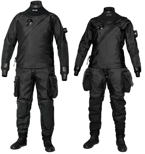 Bare Trilam X-Mission Evolution Tech Dry Black