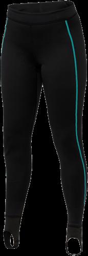 Ultrawarmth Base Layer Pant Black/Aqua Women L