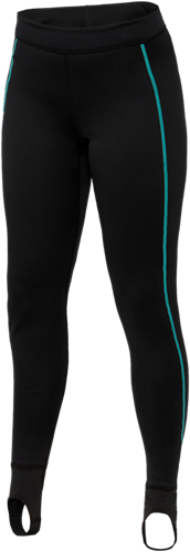 Ultrawarmth Base Layer Pant Black/Aqua Women M