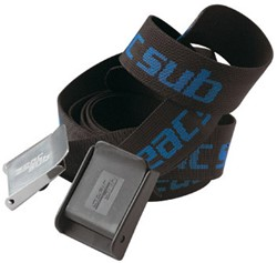 Seac Weight Belt Stainless Steel Black/Blue