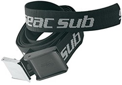 Seac Weight Belt Stainless Steel Black/Silver