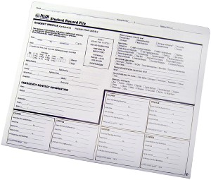 PADI Student Record File (Spanish)