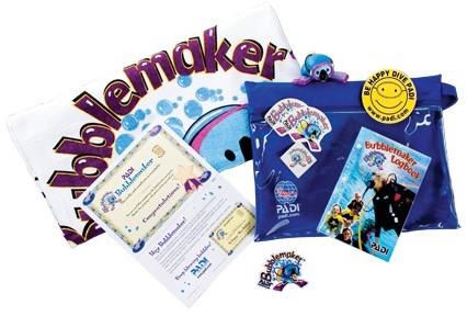 PADI Crewpak - Bubblemaker (German)