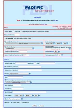 PADI CCA EFR Online - Aangekocht Met Crewpak