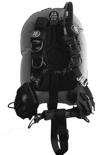OMS AL, GREY / BLACK, Comfort Harness III Signature PF Mono 32 lb