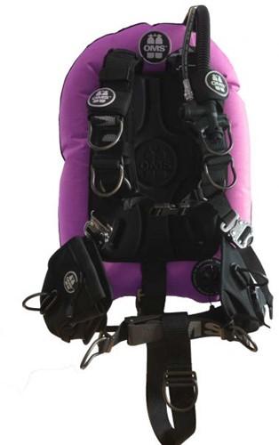 OMS AL, pink / black, Comfort Harness III Signature PF Mono 32 lb