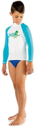 Cressi Rash Guard Long Jr Blue Octopus 12 Age