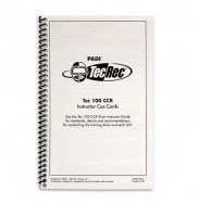 PADI Cue Cards - Tec 40 CCR, Instructor