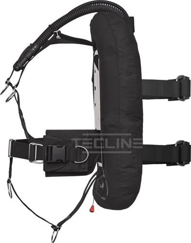 Tecline Donut 17 with DIR harness, weight pocket, built in mono adaptor, tank belts & BP