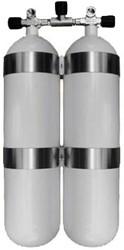 Stalen Dubbelset 10 Liter 232 Bar