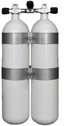 Stalen Dubbelset 12 Liter 300 Bar
