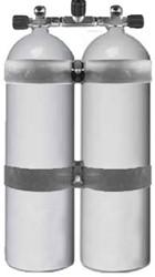 Aluminium Dubbelset 80 Cuft 200 Bar