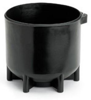 Tankvoet 15 Liter  204Mm Black